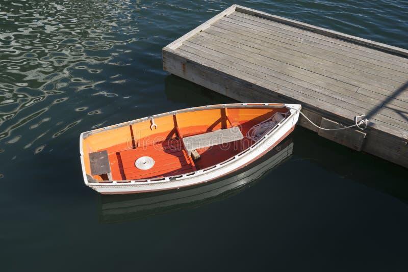 Uroczy dinghy obraz royalty free