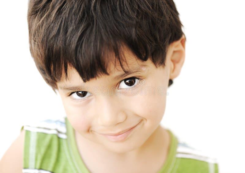 Uroczy dzieciaka portret fotografia royalty free