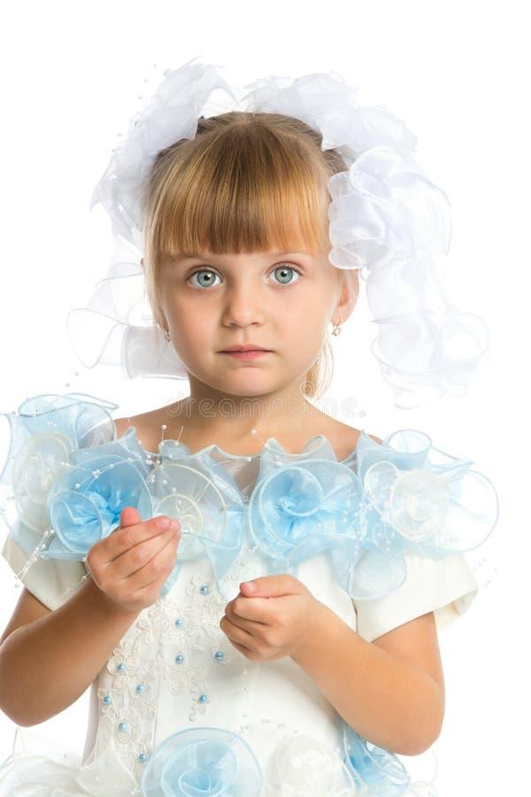 Uroczy mały Princess obraz stock