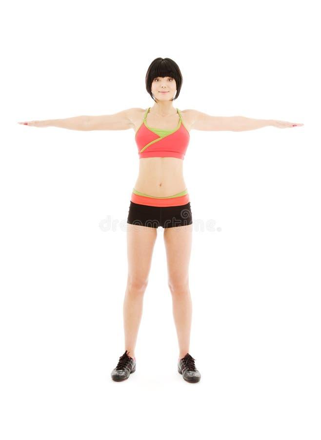uroczy sprawność fizyczna instruktor zdjęcie royalty free