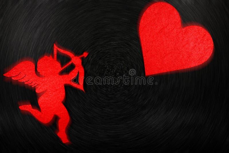 Uroczy wizerunek dla valentines dnia fotografia stock