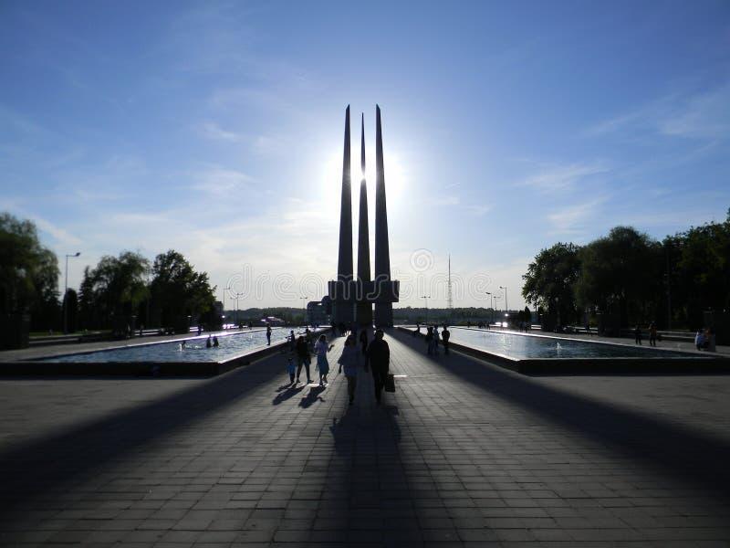 Uroczysta architektura & światło obrazy royalty free