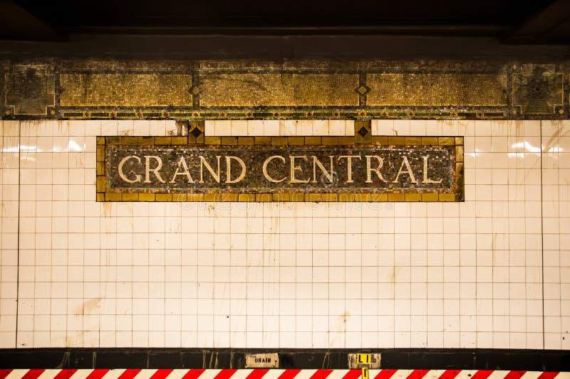 Uroczysta centrali stacja obrazy stock