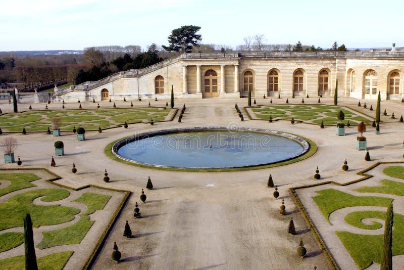 uroczyste francuski ogród zdjęcie royalty free