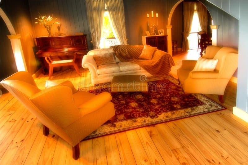 uroczyste lounge pokój zdjęcie stock
