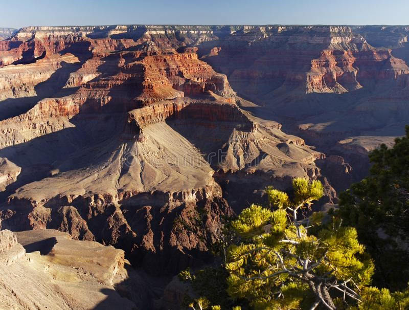 Uroczystego jaru park narodowy, atrakcja turystyczna usa obrazy stock