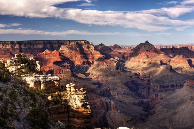 Uroczystego jaru park narodowy, atrakcja turystyczna usa zdjęcie royalty free
