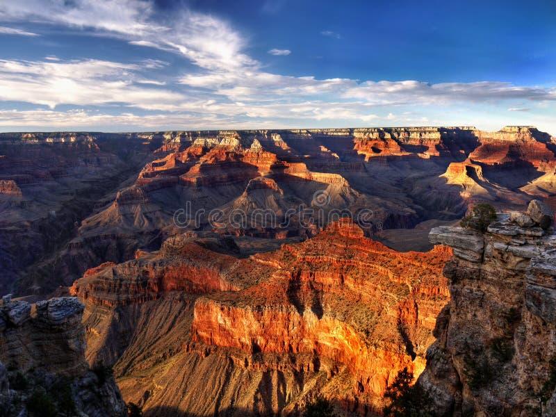 Uroczystego jaru park narodowy, Naturalny cud, Stany Zjednoczone obraz royalty free