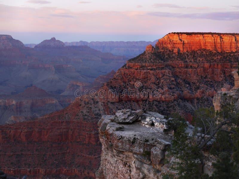 Uroczystego jaru park narodowy, Naturalny cud, Stany Zjednoczone zdjęcie royalty free