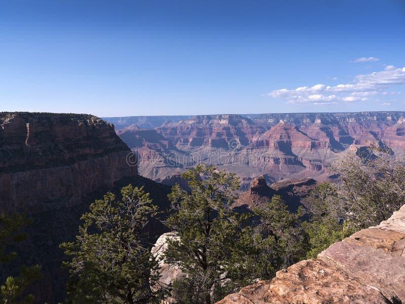 Uroczystego jaru park narodowy od Południowego obręcza w Arizona fotografia royalty free