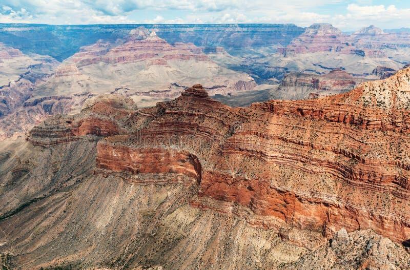 Uroczystego jaru park narodowy przy Południowym obręczem, Arizona obrazy royalty free