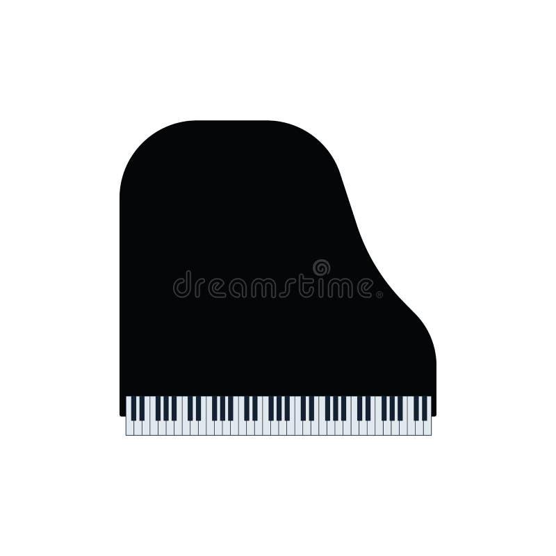 Uroczystego pianina ikona ilustracja wektor