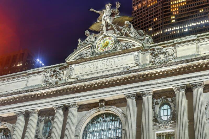 Uroczysty Środkowy Terminal - Miasto Nowy Jork fotografia stock