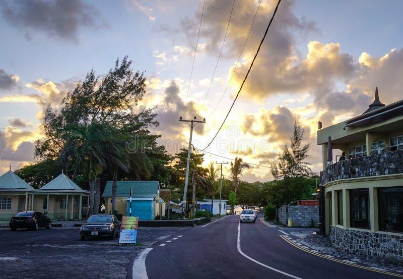 Uroczysty Baie, Mauritius obraz royalty free