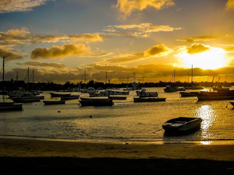 Uroczysty Baie Mauritius obrazy stock