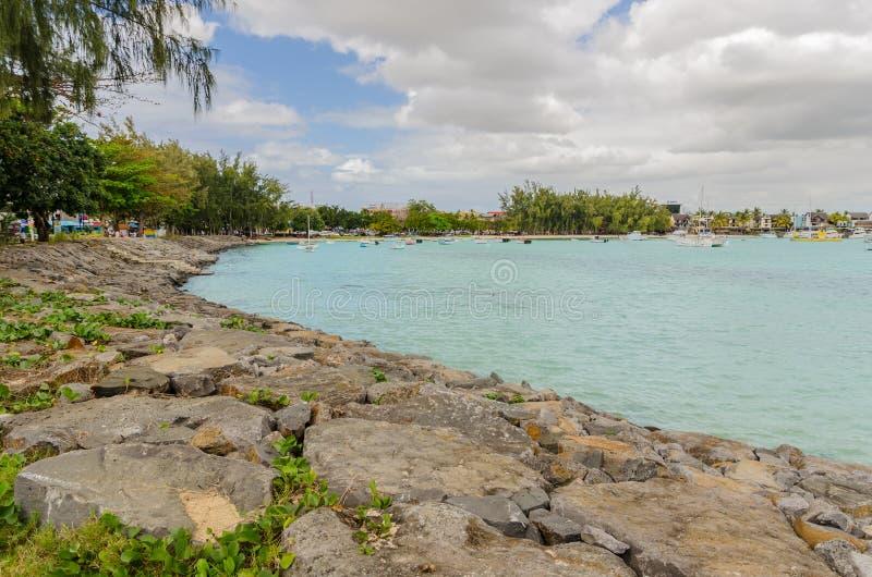 Uroczysty Baie w Mauritius obrazy stock