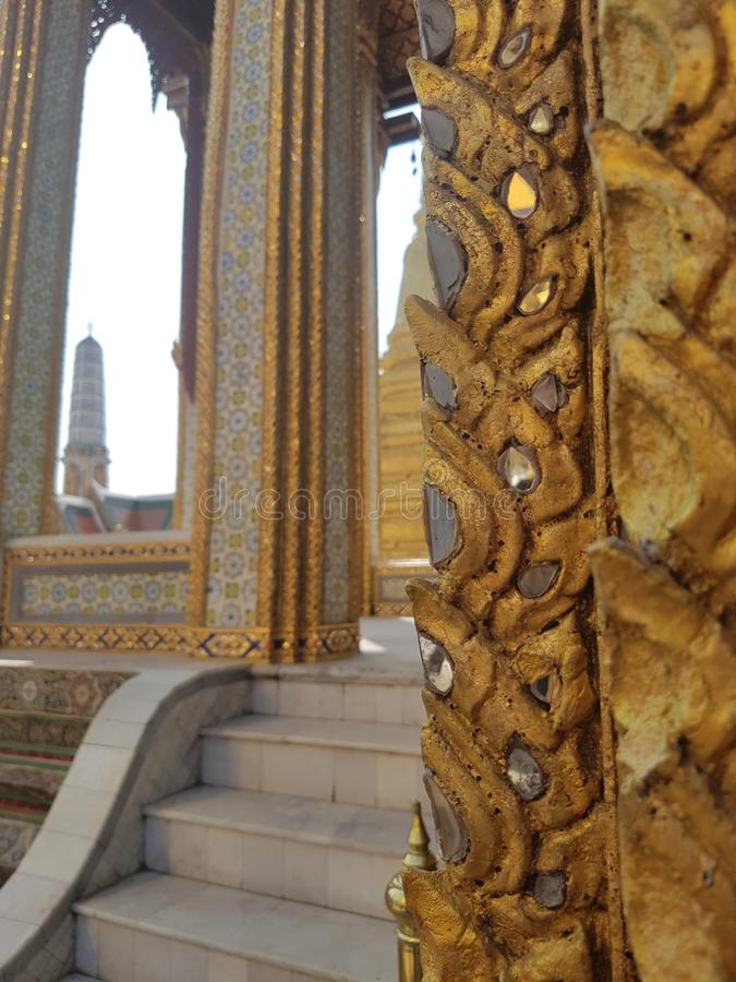 uroczysty Bangkok pa?ac Thailand fotografia stock