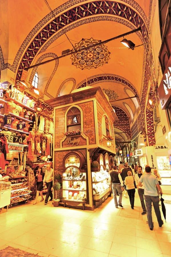 Uroczysty Bazar Istanbuł zdjęcia royalty free