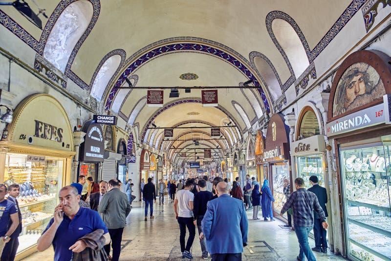 Uroczysty bazar w Istanbuł obraz stock