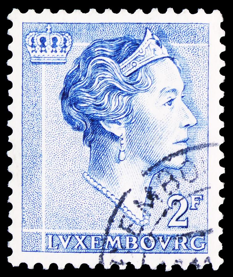 Uroczysty Duchess Charlotte, seria, oko?o 1961 zdjęcia royalty free