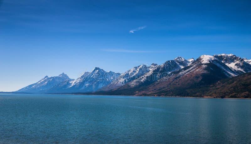 uroczysty Jackson jeziora teton obrazy stock