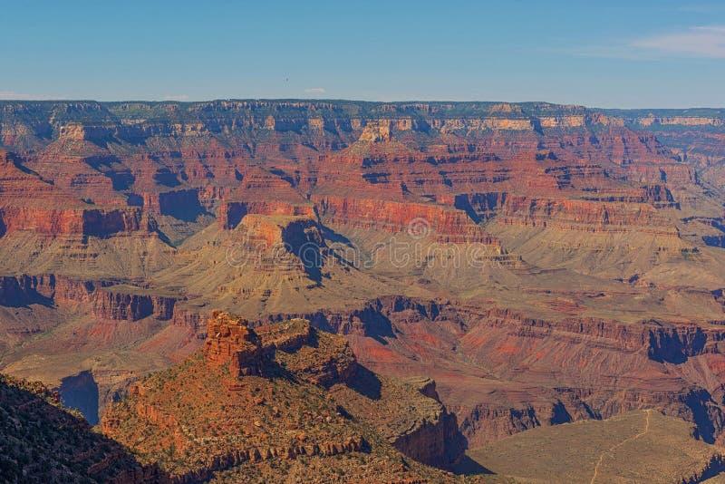 Uroczysty jar, Południowy obręcza ślad, park narodowy, Arizona, usa obraz royalty free