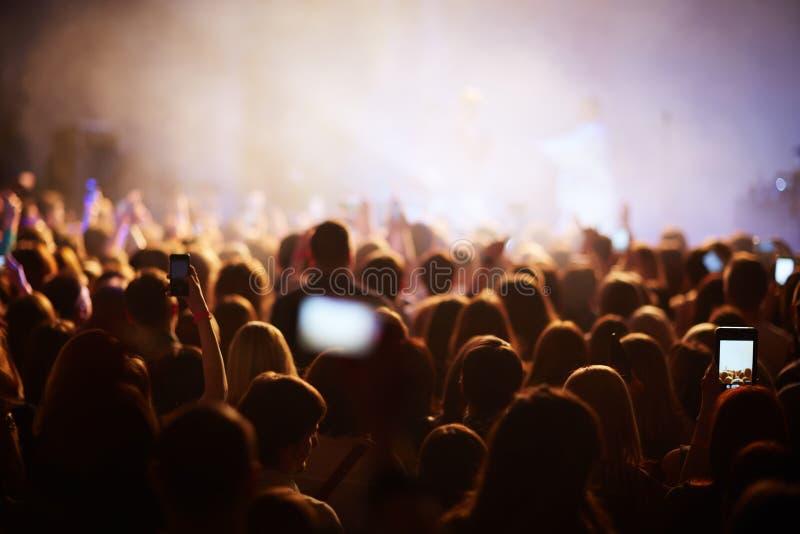 Uroczysty koncert obraz stock