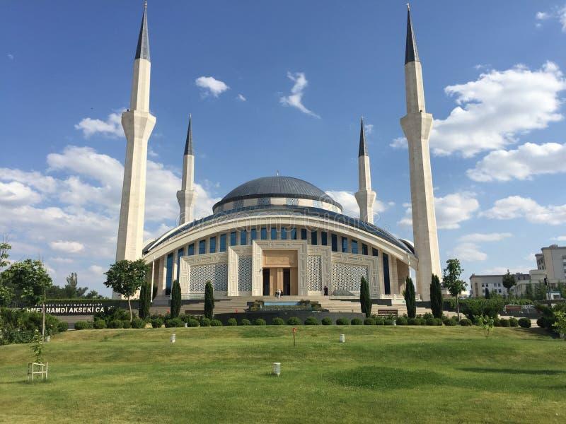 Uroczysty meczet w Ankara Turcja obraz royalty free