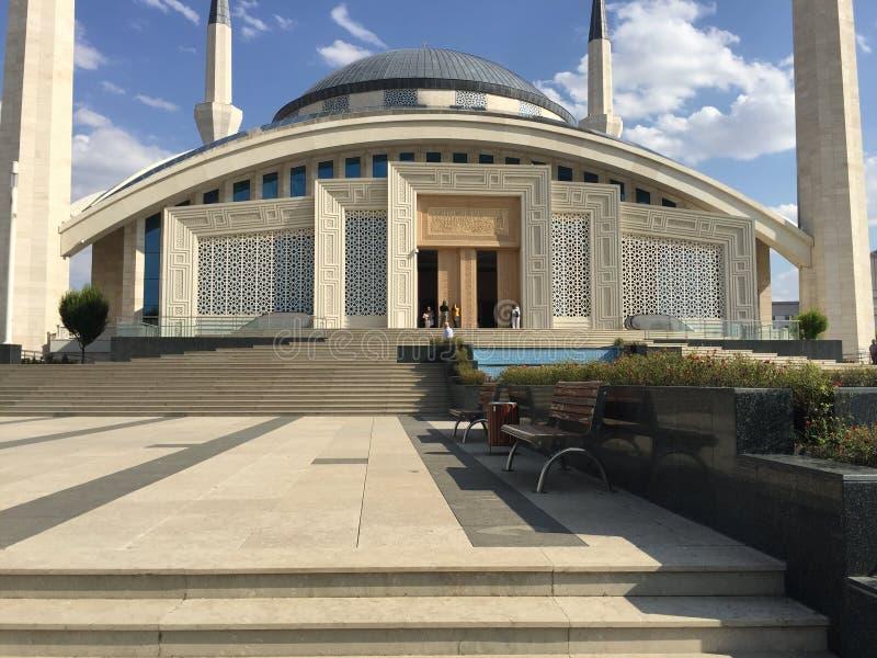 Uroczysty meczet w Ankara Turcja obrazy stock