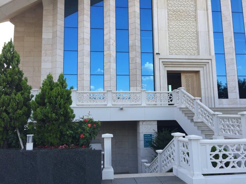 Uroczysty meczet w Ankara Turcja fotografia stock