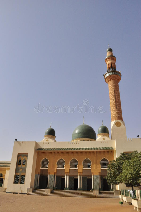 uroczysty meczetowy Niamey obraz royalty free