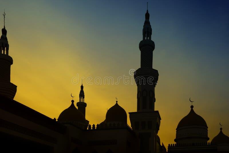 Uroczysty Meczetowy zmierzch zdjęcia stock