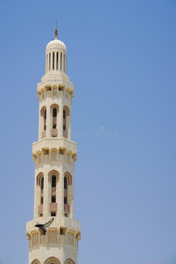 uroczysty minaretowy meczetowy muszkatołowy Oman qaboos sułtan fotografia royalty free