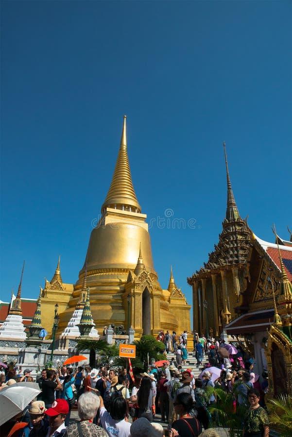 Uroczysty pałac, Bangkok Tajlandia podróż obrazy stock