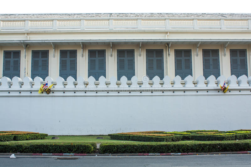 Uroczysty pałac: ogrodzenie obrazy royalty free
