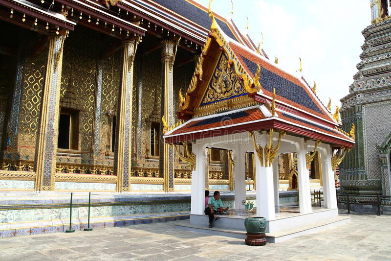 Uroczysty pałac w Bangkok zdjęcia royalty free