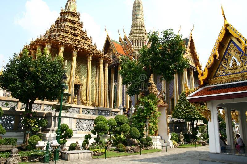 Uroczysty pałac w Bangkok zdjęcia stock