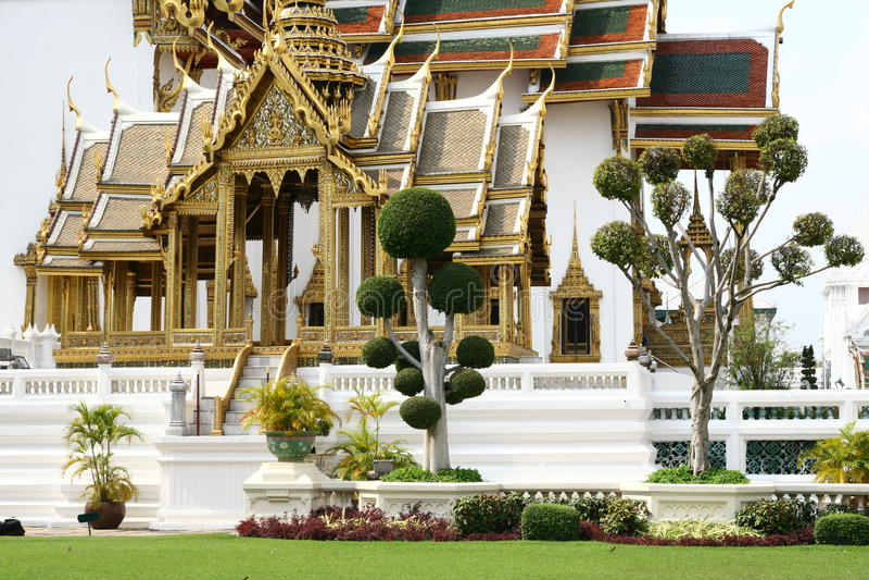 Uroczysty pałac w Bangkok obraz royalty free