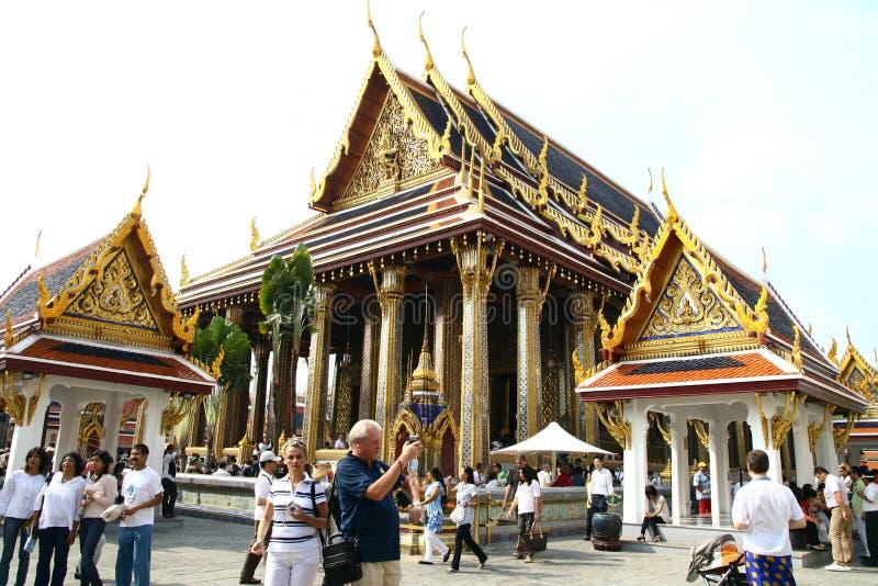 Uroczysty pałac w Bangkok fotografia royalty free