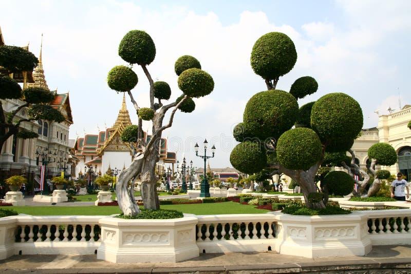 Uroczysty pałac w Bangkok zdjęcie royalty free