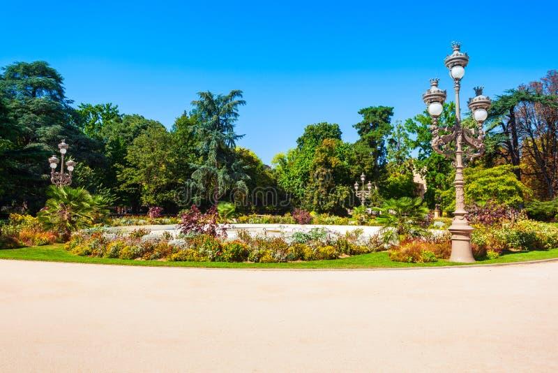 Uroczysty Rondo jawny park, Tuluza zdjęcia royalty free