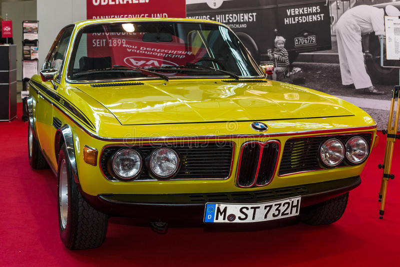 Uroczysty tourer coupe BMW 3 (0) CSL zdjęcie royalty free