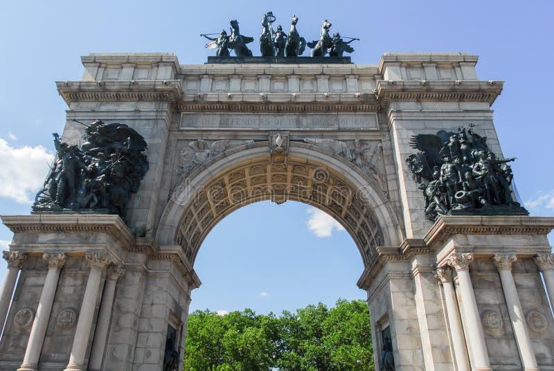 Uroczysty wojsko plac - Brooklyn, Nowy Jork zdjęcie royalty free