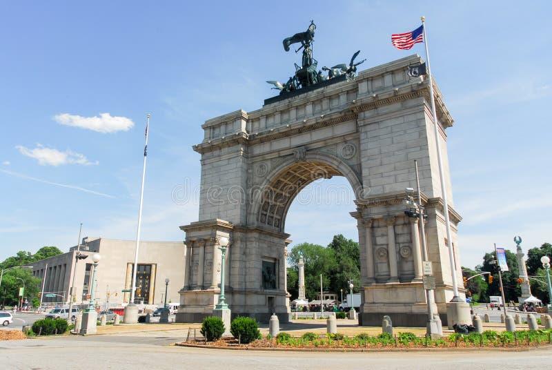 Uroczysty wojsko plac - Brooklyn, Nowy Jork fotografia stock