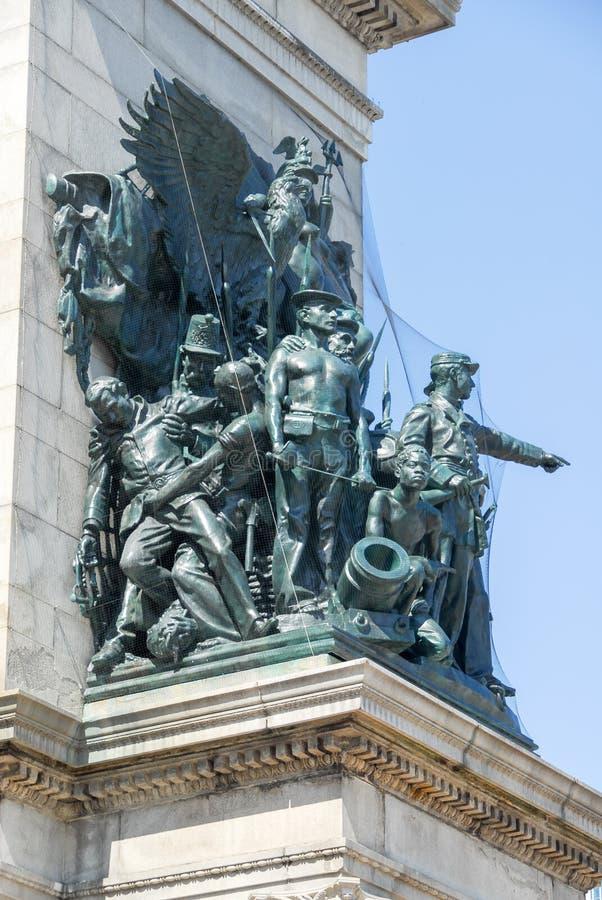 Uroczysty wojsko plac - Brooklyn, Nowy Jork obrazy stock