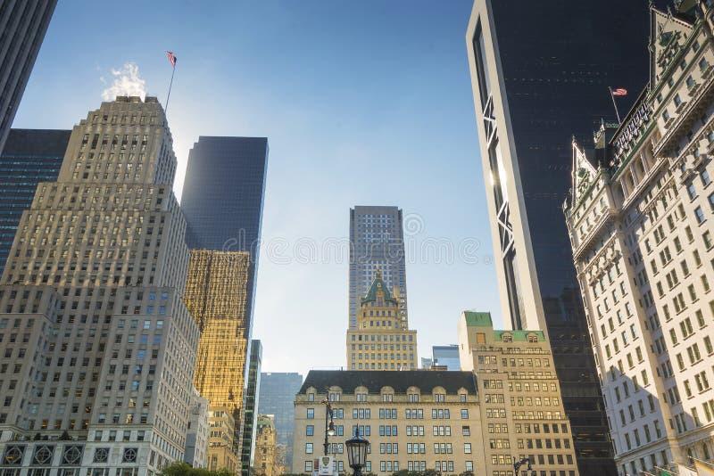 Uroczysty wojsko plac w Nowy Jork fotografia royalty free