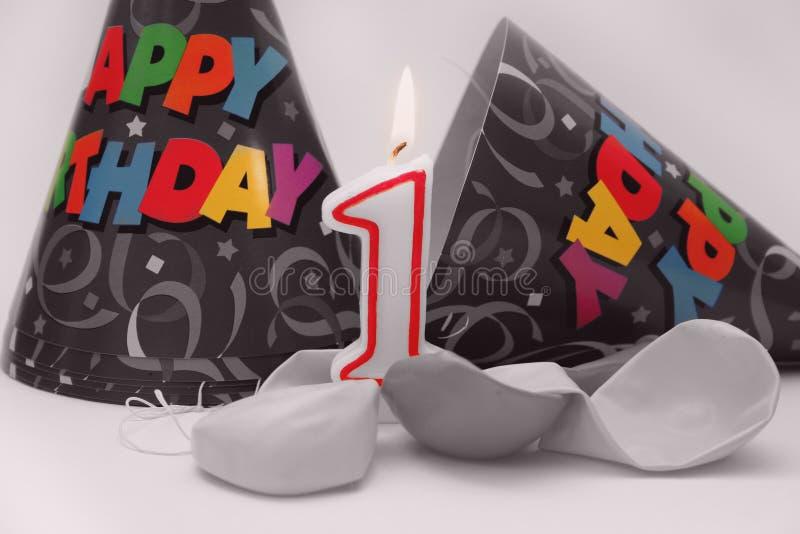 Download Urodzin 3 scena obraz stock. Obraz złożonej z fety, balon - 135605
