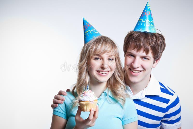 urodzinowa dziewczyna fotografia royalty free
