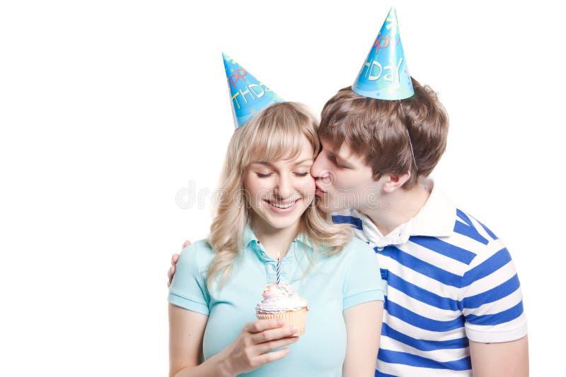 urodzinowa dziewczyna zdjęcie stock