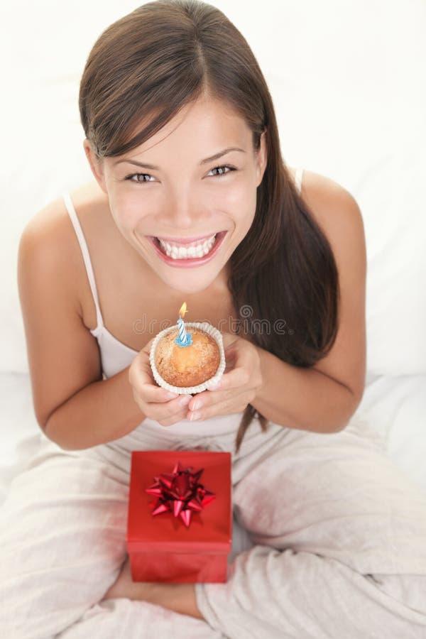 urodzinowa kobieta zdjęcie royalty free